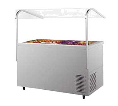 Turbo Air J Series Refrigerated Buffet Table-side mount 18.2 cu. ft. - JBT-72
