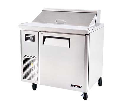 Turbo Air J Series Sandwich/Salad Unit-side mount 7.5 cu. ft. - JST-36