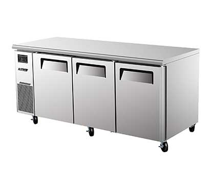 Turbo Air J Series Side Mount Undercounter Refrig. 19 cu. ft. - JUR-72