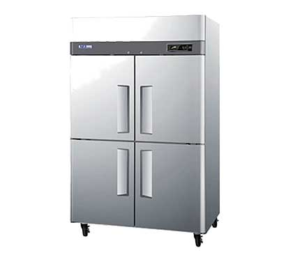 Turbo Air Freezer with Four Half Doors - M3F47-4-N