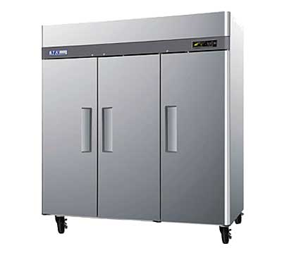 Turbo Air M3 Solid Door Freezer M3F72-3 - Three Door