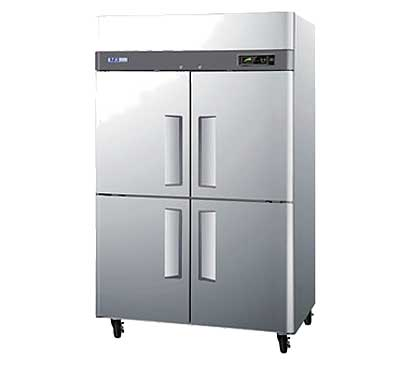 Turbo Air Four Half Door Reach-In Refrigerator