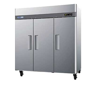 Turbo Air Three Door Reach-In Refrigerator