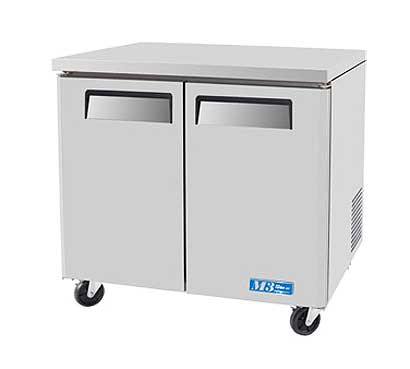 Turbo Air M3 Series Undercounter Refrig. 9.5 cu. ft. - MUR-36
