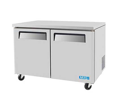 Turbo Air MUR-48 Under Counter Refrigerator 2-Section