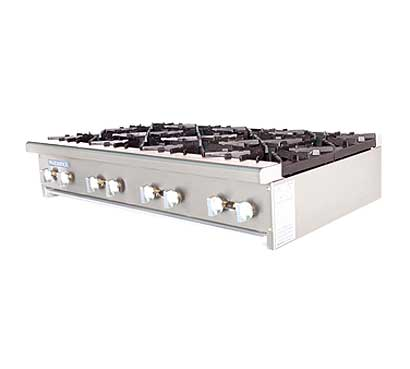 Turbo Air Radiance Gas Countertop Hot Plate - 8 Burners