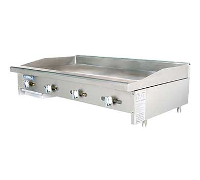 Turbo Air Radiance Countertop Gas Griddle - 4 Burners