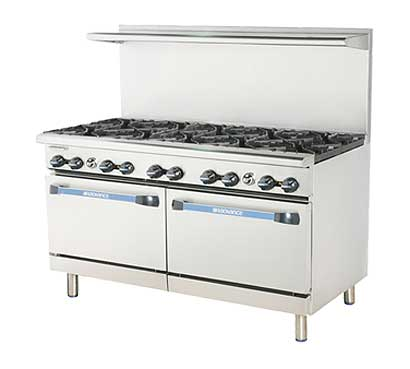 "Turbo Air Radiance Restaurant Range gas 60"" - TAR-10"