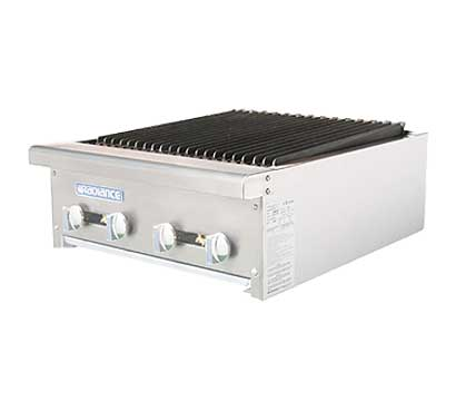 Turbo Air Radiance Charbroiler - 4 Burners