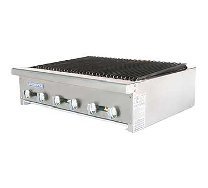 Turbo Air Radiance Charbroiler - 6 Burners