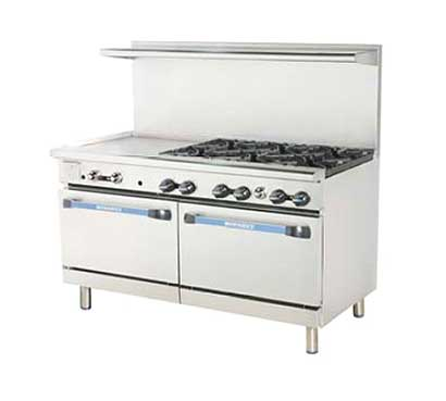 "Turbo Air Turbo Air Radiance Restaurant Range gas 60""W - TARG-24G6B"