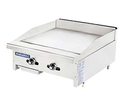 "Turbo Air TATG-24 Radiance Griddle With Thermostat, 24"" Wide"