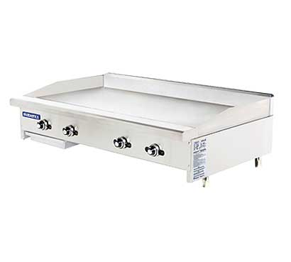 "Turbo Air TATG-48 Radiance Griddle With Thermostat, 48"" Wide"