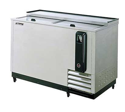 Turbo Air 50 Inch Stainless Steel Bottle Cooler - TBC-50SD-N6