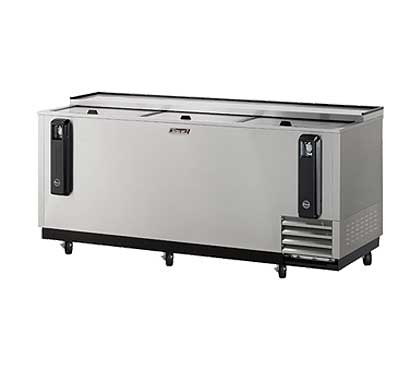 "Turbo Air Turbo Air Bottle Cooler 80""L - TBC-80SD"