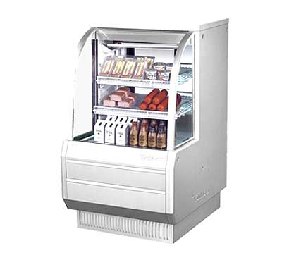 "Turbo Air Refrigerated Deli Display Case 36-1/2""W - TCDD-36-2-H"