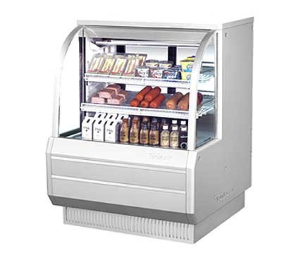 "Turbo Air Refrigerated Deli Display Case 48-1/2""W - TCDD-48-2-H"