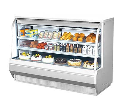 "Turbo Air Refrigerated Deli Display Case 712-1/2""W - TCDD-72-2-H"