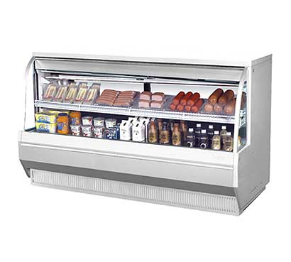 "Turbo Air Refrigerated Deli Display Case 72-1/2""W - TCDD-72L"