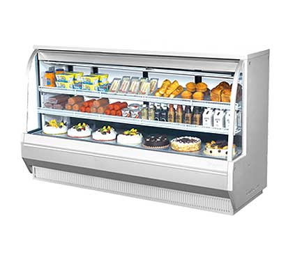 "Turbo Air Refrigerated Deli Display Case 96-1/2""W - TCDD-96-4-H"