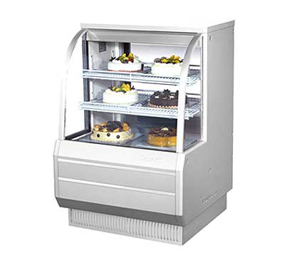 "Turbo Air Refrigerated Bakery Display Case, 36-1/2""W - TCGB-36"
