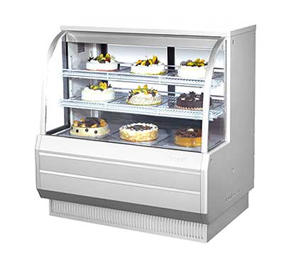 "Turbo Air Refrigerated Bakery Display Case, 48-1/2""W - TCGB-48-2"