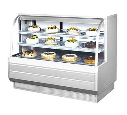 "Turbo Air Refrigerated Bakery Display Case, 60-1/2""W - TCGB-60-2"