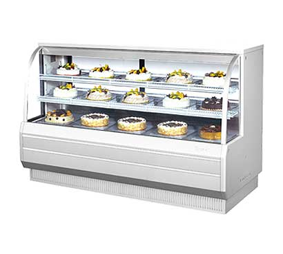 "Turbo Air Refrigerated Bakery Display Case, 72-1/2""W - TCGB-72-2"