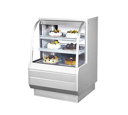 """Turbo Air Bakery Display Case, Non-Refrigerated,  36-1/2""""W - TCGB-36-DR"""