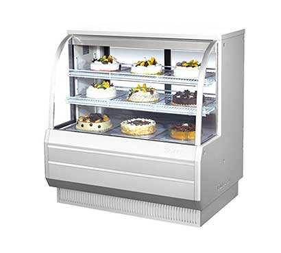 "Turbo Air Bakery Display Case, Non-refrigerated, 48-1/2""W - TCGB-48-DR"