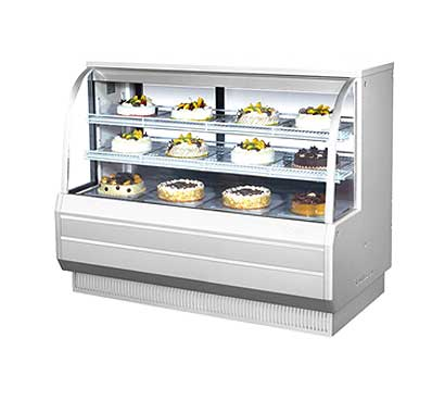 "Turbo Air Bakery Display Case, Dry & Refrigerated Combo, 60-1/2""W - TCGB-60-CO"