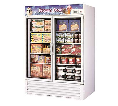 Turbo Air Glass Door Freezer - 2 Swing Doors - TGF-49F-N