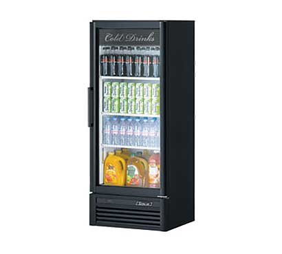 Turbo Air Super Deluxe Refrigerated Merchandiser - 11.3 cu. ft. - TGM-12SD