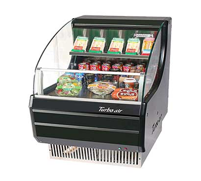 Turbo Air TurboAir Horizontal Open Display Merchandiser low-profile - TOM-30LB