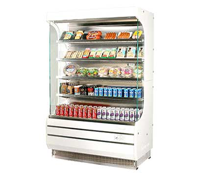 Turbo Air Open Display Merchandiser - TOM-40