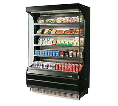 Turbo Air Open Display Merchandiser Self Contained Photo