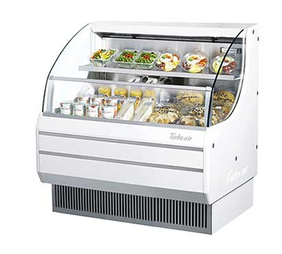 Turbo Air Horizontal Open Display Merchandiser low-profile - TOM-40L