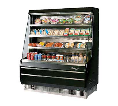 Turbo Air Turbo Air Open Display Merchandiser mid-height - TOM-40MB