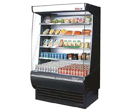 "Turbo Air Xtra Deep Vertical Open Display Merchandiser 48""L - TOM-48-DX"