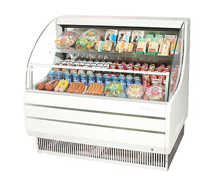 Turbo Air TurboAir Horizontal Open Display Merchandiser low-profile - TOM-50L