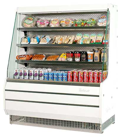 Turbo Air Turbo Air Open Display Merchandiser mid-height - TOM-50M