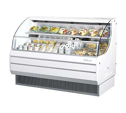 Turbo Air Horizontal Open Display Merchandiser low-profile - TOM-60L