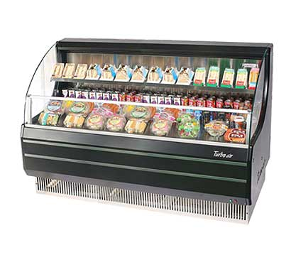 Turbo Air TurboAir Horizontal Open Display Merchandiser low-profile - TOM-60LB
