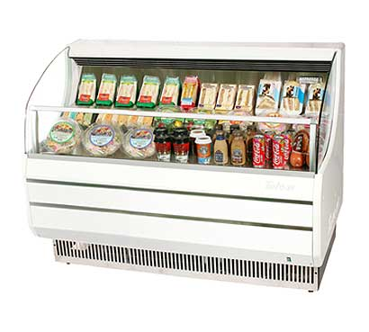 Turbo Air Horizontal Open Display Merchandiser slim-line - TOM-60SW-N