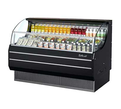 Turbo Air TurboAir Horizontal Open Display Merchandiser slim-line - TOM-75SB