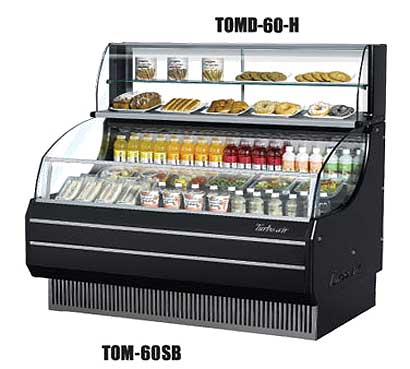 "Turbo Air TurboAir Top Display Dry Case-High model 63-1/4 x 12-1/2"" x 13-3/4"" - TOMD-60-H"