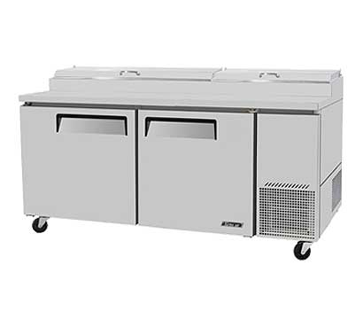 Super Delux Pizza Prep Table from Turbo Air - TPR-67SD-N