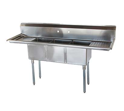 Choose Three Bay Convenience Store Sink Product Photo