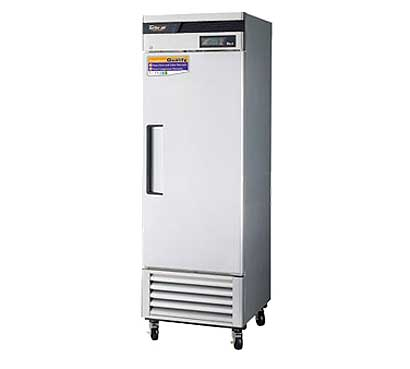 Turbo Air Super Deluxe Stainless Steel Solid Door Refrigerator - TSR-23SD-N6