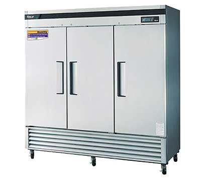 Turbo Air Three Door Reach-In Freezer - TSF-72SD-N